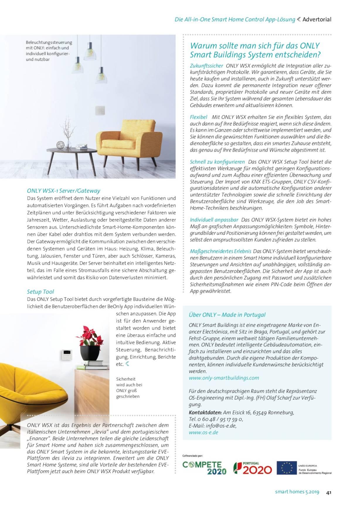 Smart Home Zeitschrift : os e ingenieurb ro olaf scharf news ~ Watch28wear.com Haus und Dekorationen